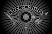 Guitar twin — Stockvector