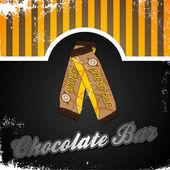 Chocolate bar — Stock Vector
