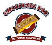 Chokladkaka — Stockvektor