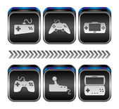 Console de jeux vidéo — Vecteur
