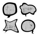 Bubble arte grunge — Vector de stock