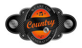 Country — Stock Vector