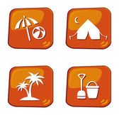 Holiday and travel icon — Stock Vector