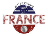 France National label — Cтоковый вектор