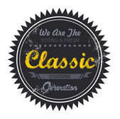 Classic music genre — Stock Vector