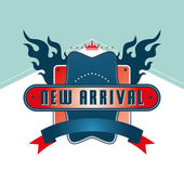 New arrival  label — Stock Vector