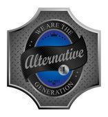 Alternative — Stockvektor