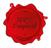 Label art original — Stock Vector