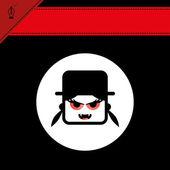 Dracula femelle — Vecteur