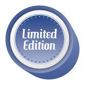 Limitowana edycja naklejki — Wektor stockowy