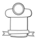 Modelo vintage — Vetorial Stock