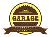 Badge garage — Stock Vector
