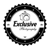 Exclusive photography — Stock Vector