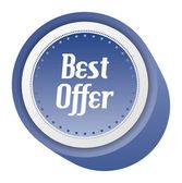 Best offer sale — Stock Vector
