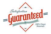 Label guaranteed — Stock Vector