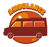 Ambulance sign — Stock Vector