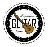 Guitar course — Stock Vector