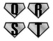 Alfabeto conjunto — Vector de stock