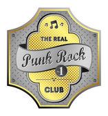 Punk rock — Stock Vector
