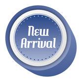 New arrival sticker — Stock Vector