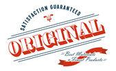 Vintage etiketi — Stok Vektör