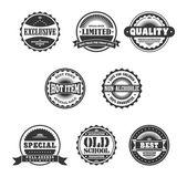 Badge standard — Stock Vector