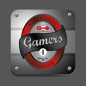 Gamer club — Stock Vector