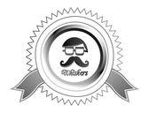 Hipster  gentleman — Stock Vector