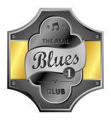 Blues — Vector de stock