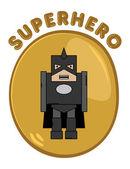 Cartoon hero — Stock Vector