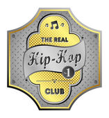 Hip-hop — Stock Vector