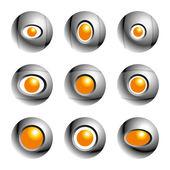 Объектив фотокамеры — Cтоковый вектор