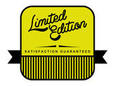 Limited edition label — Stock Vector