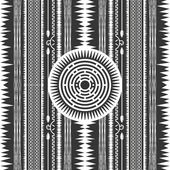 Native american art illustration — Wektor stockowy