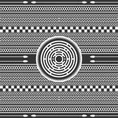 Native american art illustration — Stock Vector
