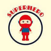 小さな英雄 — ストックベクタ