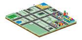Modello di asset di gioco mondo — Vettoriale Stock