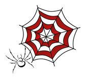 Spider web art — Stock Vector