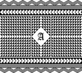 Retro pattern art — Stockvektor