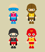 Amazing cartoon hero — Vetorial Stock