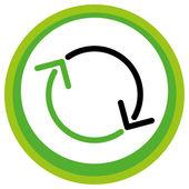 """Schaltfläche """"symbol — Stockvektor"""
