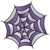 Spider-web art illustration — Stockvektor