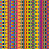 Native tribe pattern — Stockvector