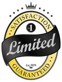 Limited  label — Stock Vector