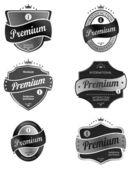 Premium product  label — Vecteur