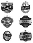Limited product  label — Stock Vector