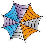 Spiderweb art — Stock Vector