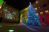 Christmas postcard from Siena — Stock Photo