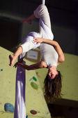 Aerial dance — Zdjęcie stockowe