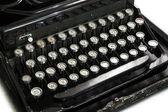 Typewriter keyboard — Stock Photo
